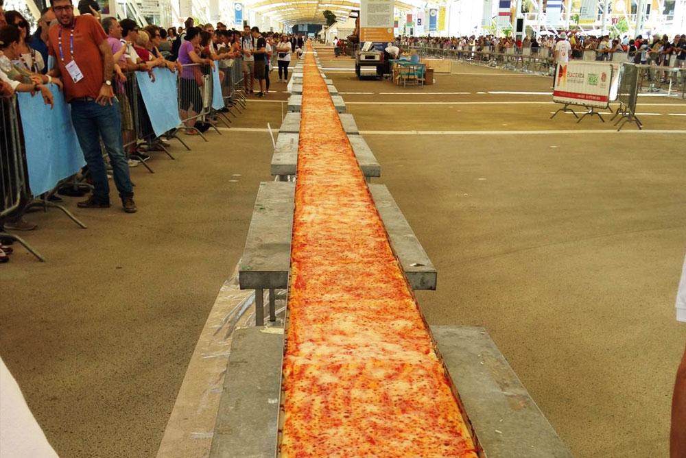 Pizza Più lunga del mondo