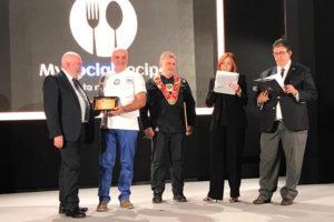 Premiazione Pizzaiolo Stefano Cioccari
