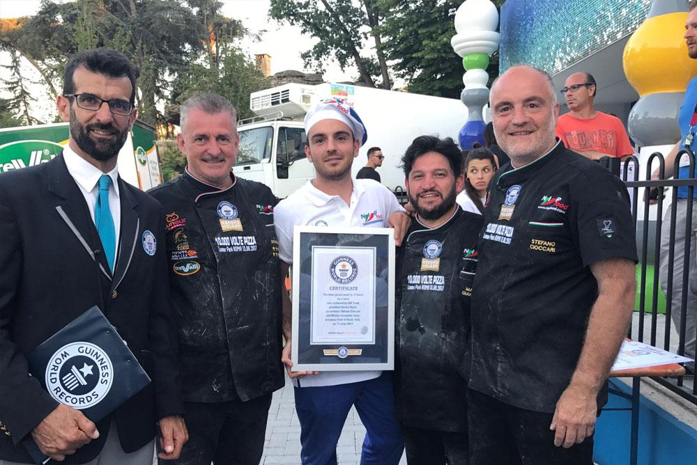 Premiazione Guinness dei primati