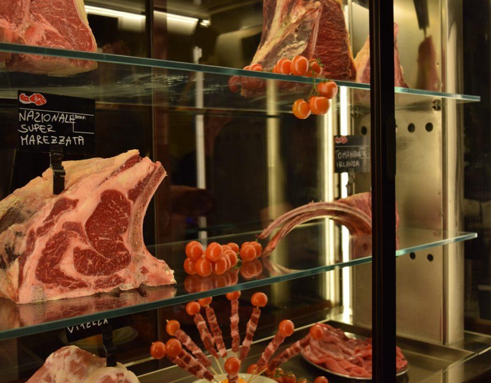 Carne di qualità Angus Tomahawk Scottona
