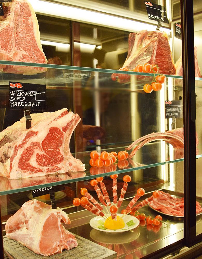 Carne fresca di qualità Tomahawk Angus